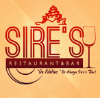 Sire's Restaurant & Bar logo (2014) - with backdrop